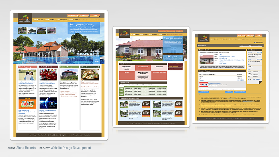 Resort Website Design