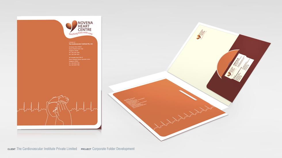 National Heart Centre Patient Folder