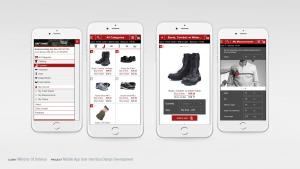 MINDEF eMart Mobile App User Interface